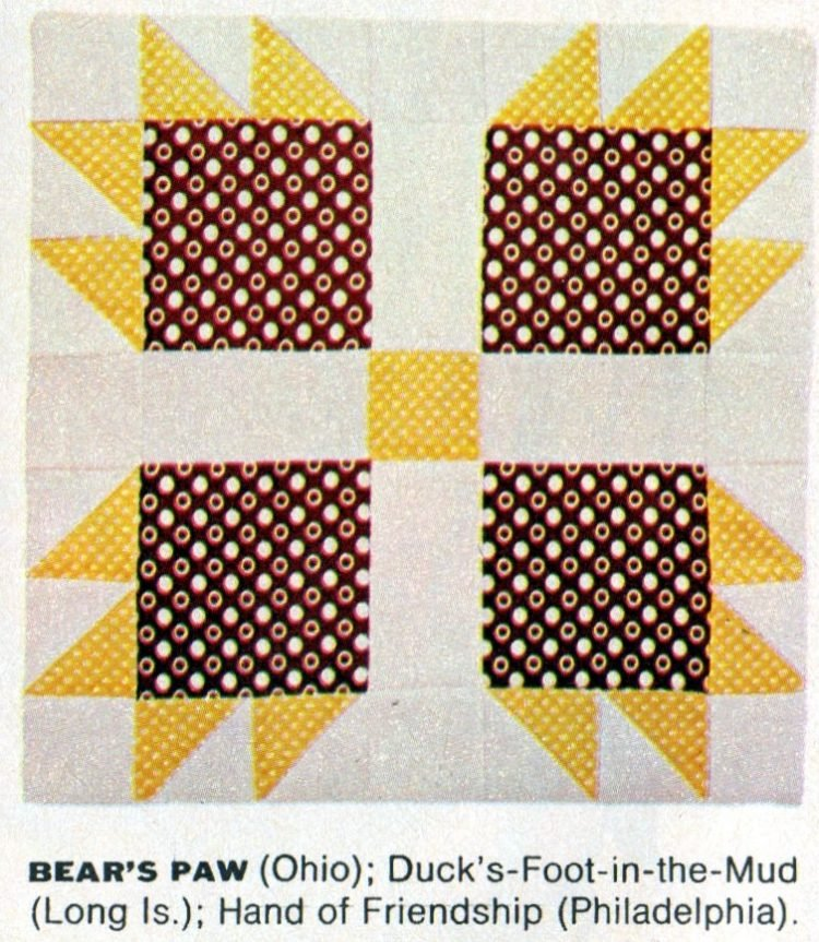 American heritage Pieced patchwork quilts from 1972 (8)