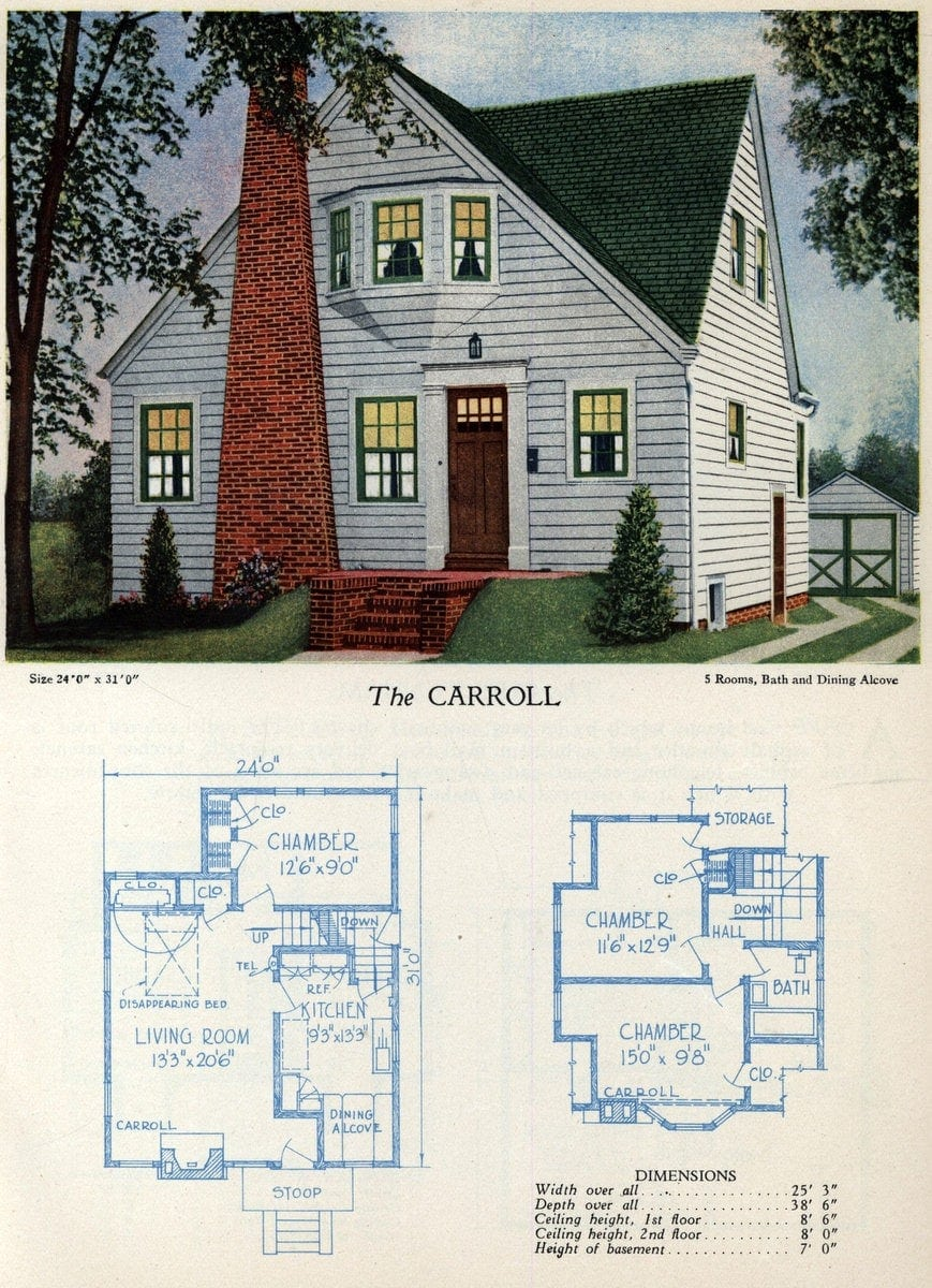 Vintage home designs - The Carroll