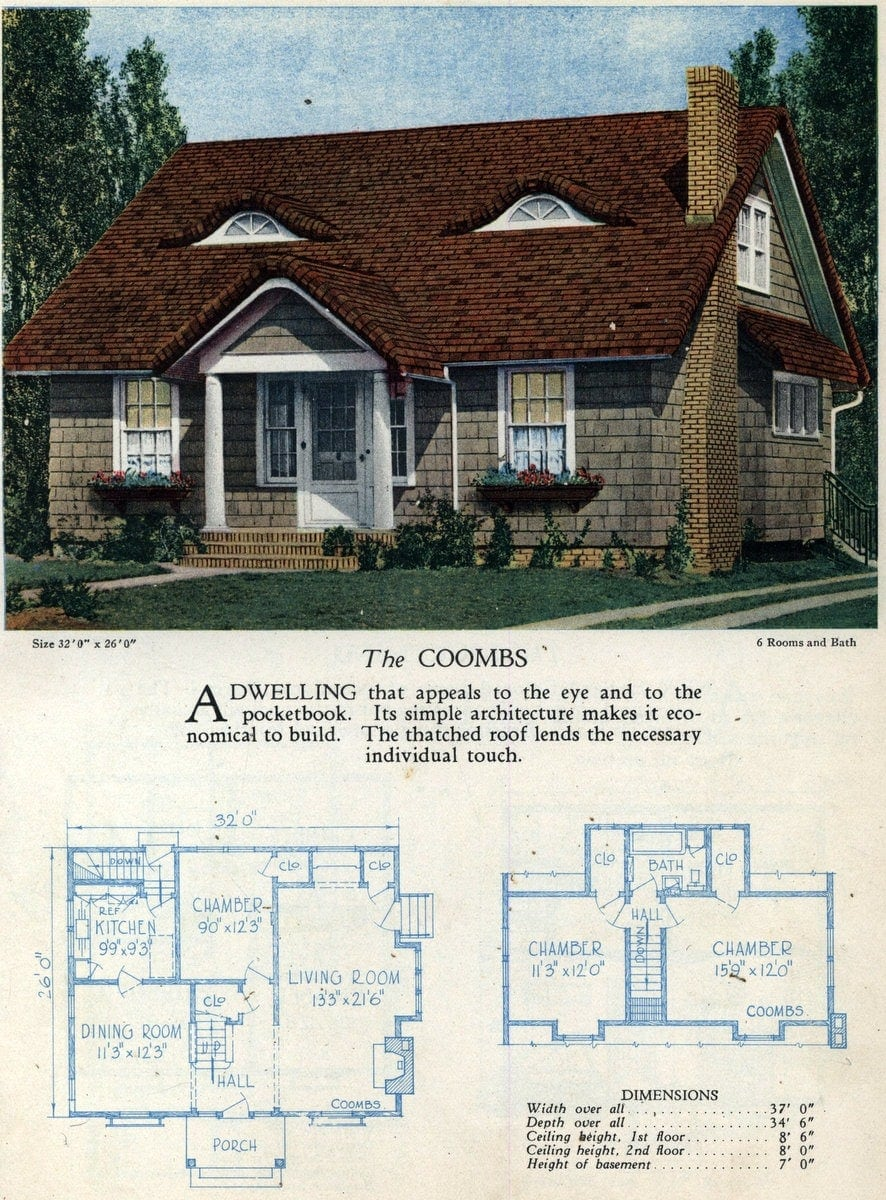 Vintage home designs - The Coombs