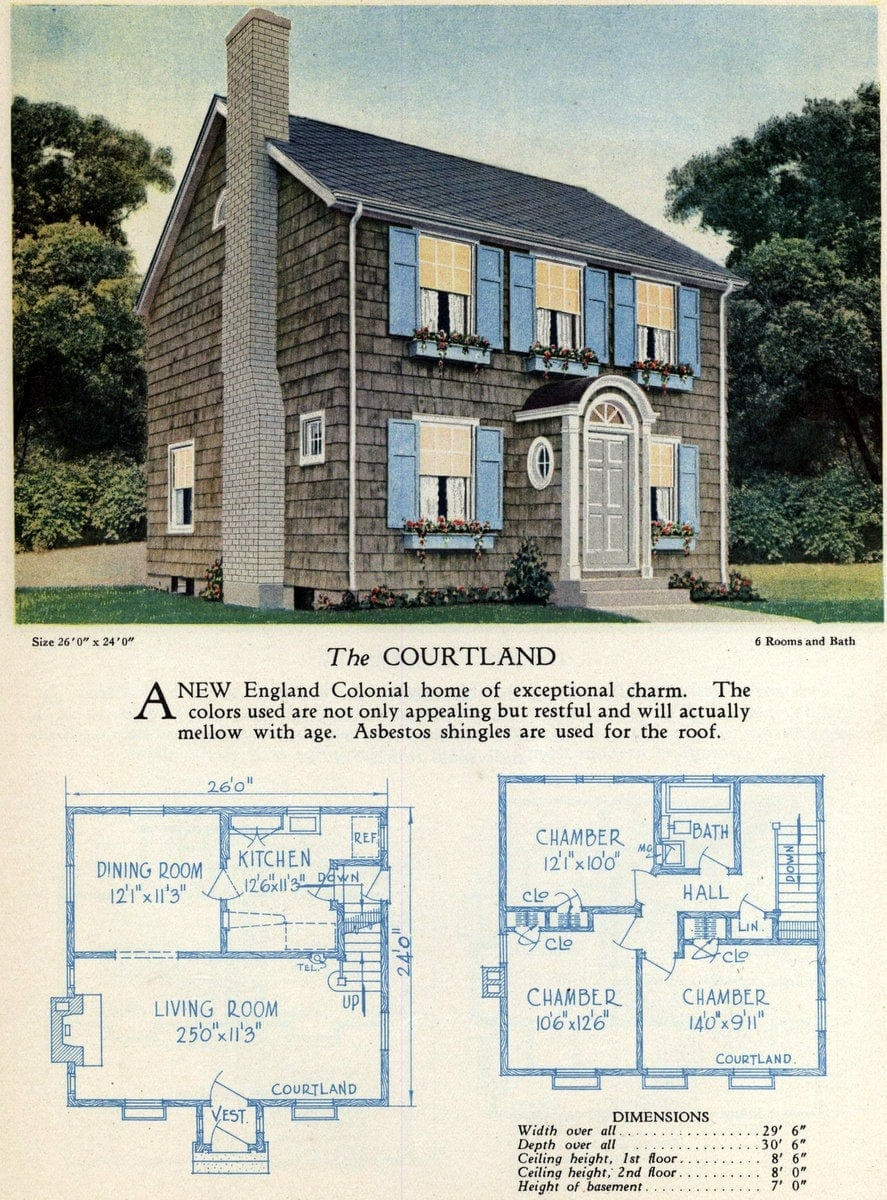 American home designs - The Courtland