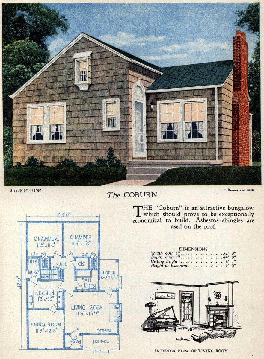 American home designs - The Coburn