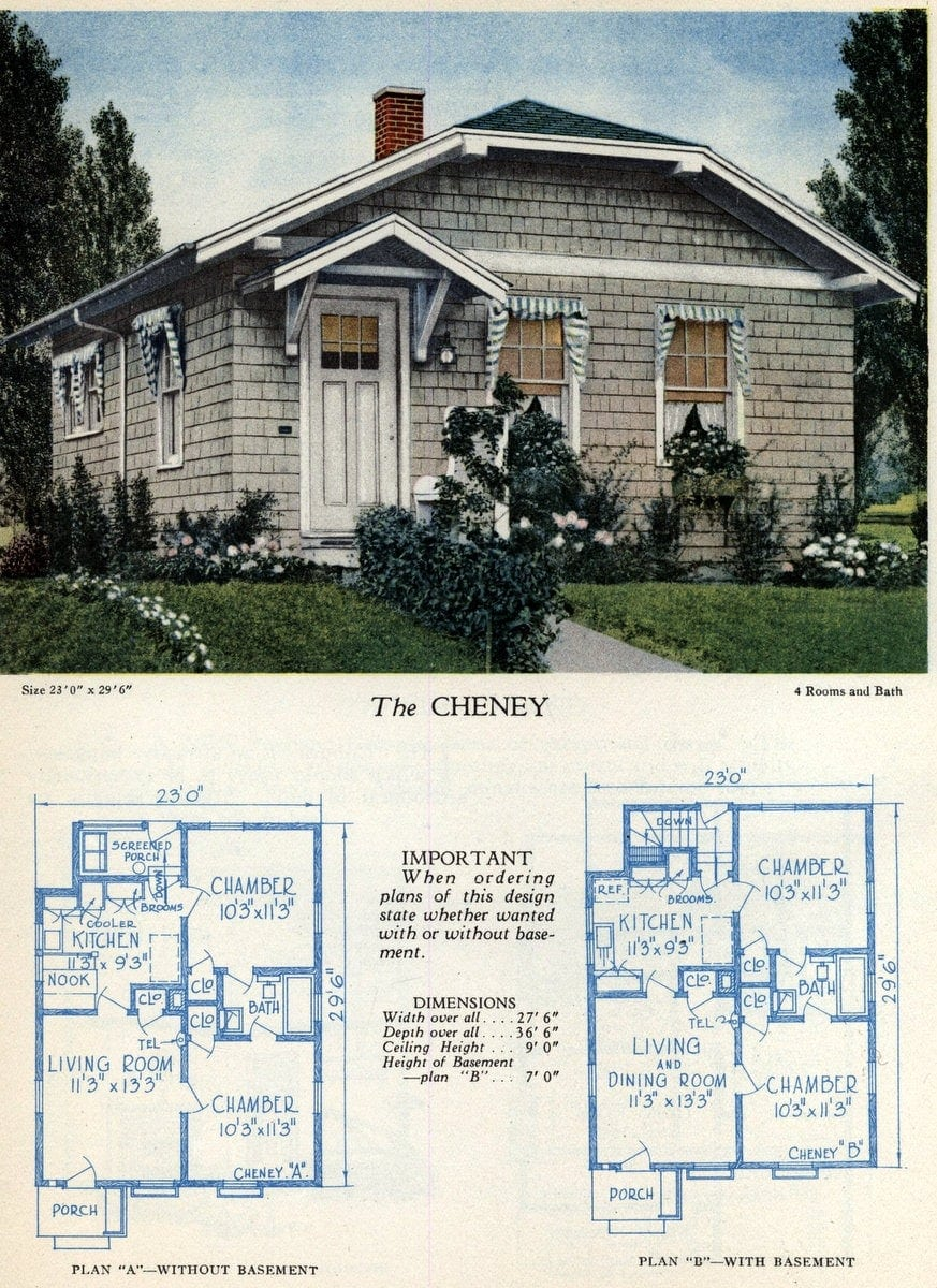 American home designs - The Cheney