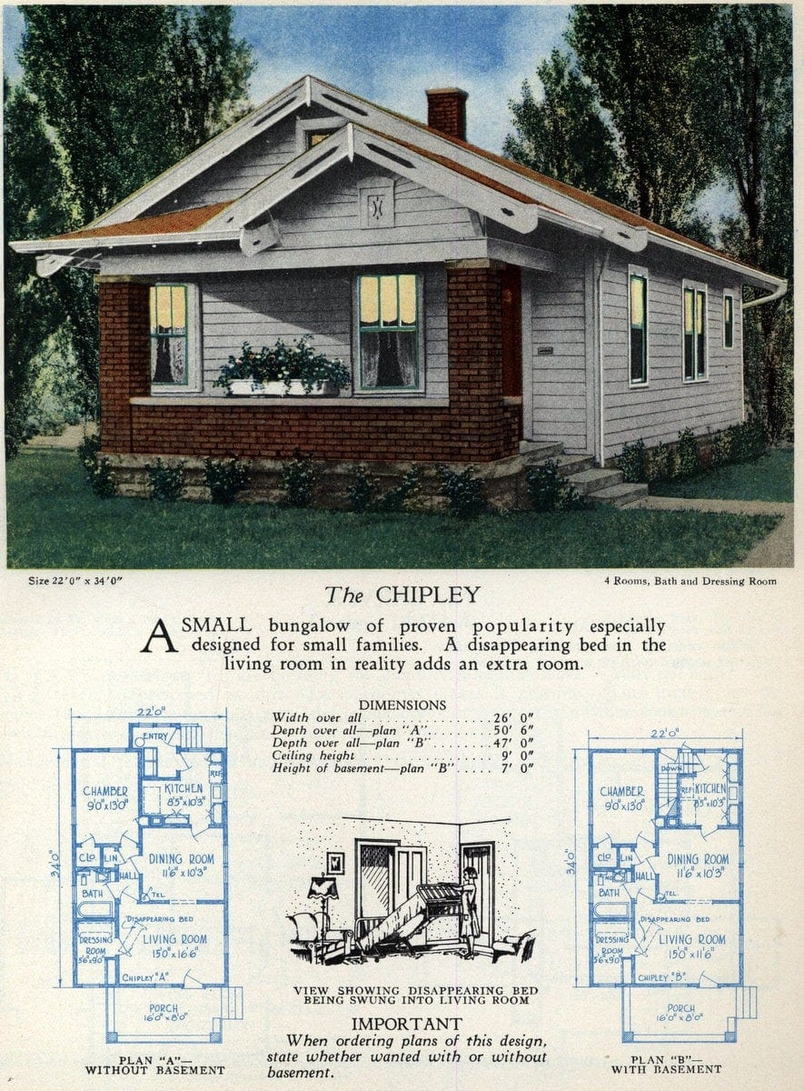 Vintage home designs - The Chipley