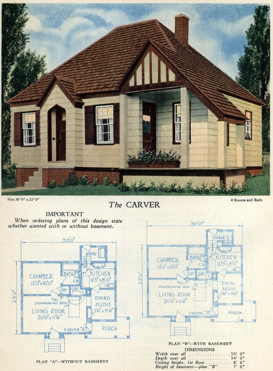 American home designs - The Carver