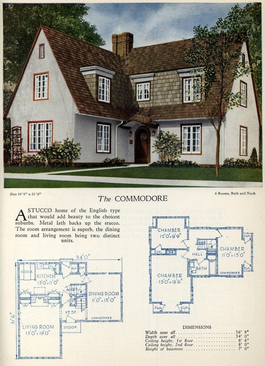 American home designs - The Commodore