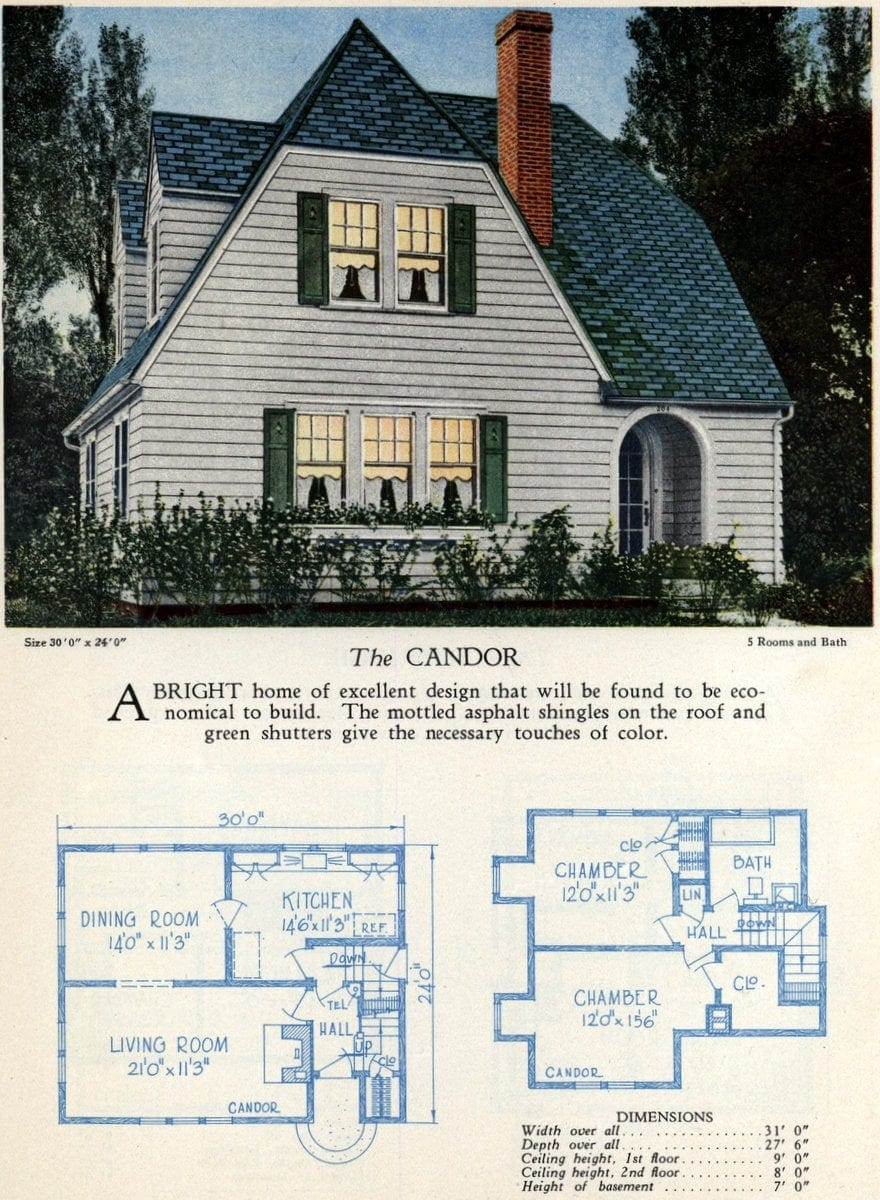American home designs - The Candor