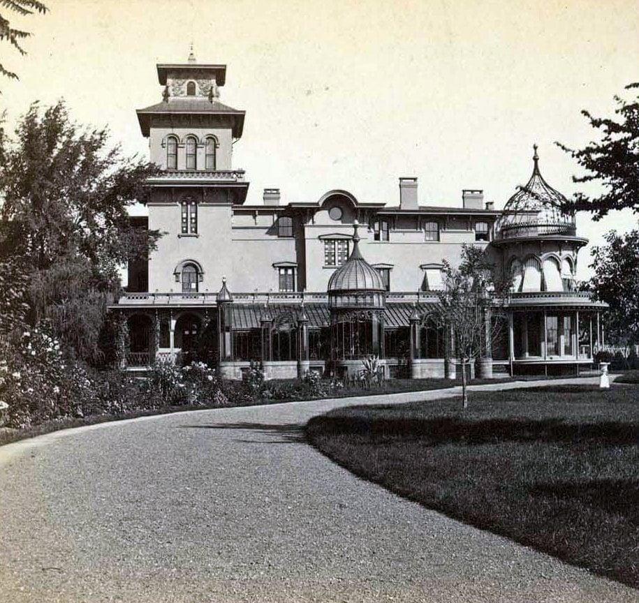 Stereograph - Armsmear mansion