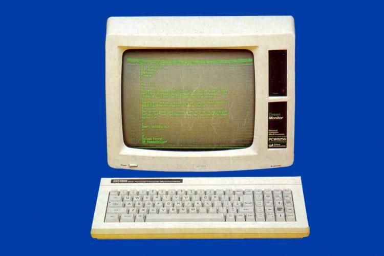 Amstrad PCW8256 - Vintage 1980s word processor computer (1)