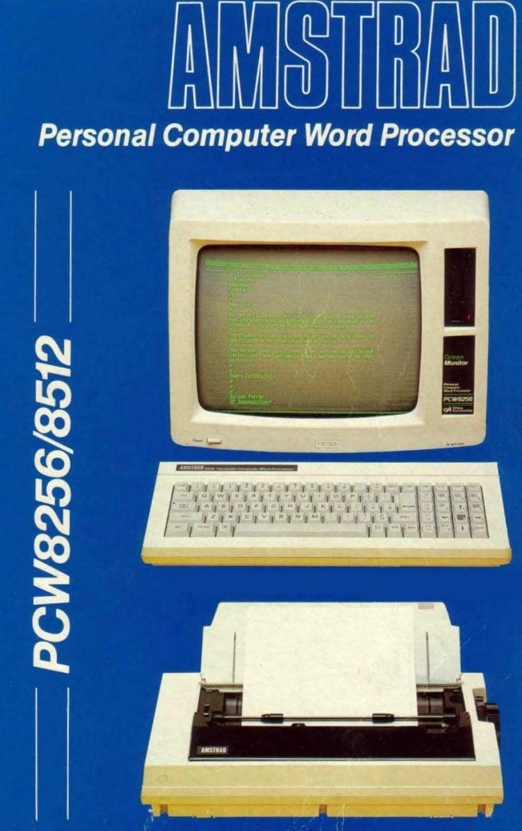 Amstrad PCW8256 - Vintage 1980s word processor computer (2)