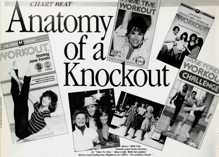 Anatomy of a knockout - Fonda workout videos from the eighties