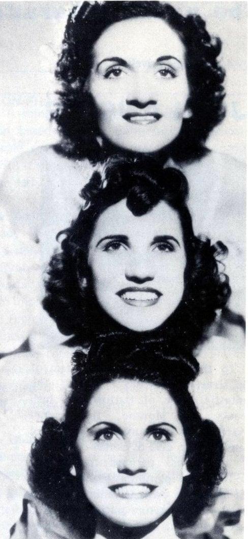 Andrews Sisters - Singers in 1937