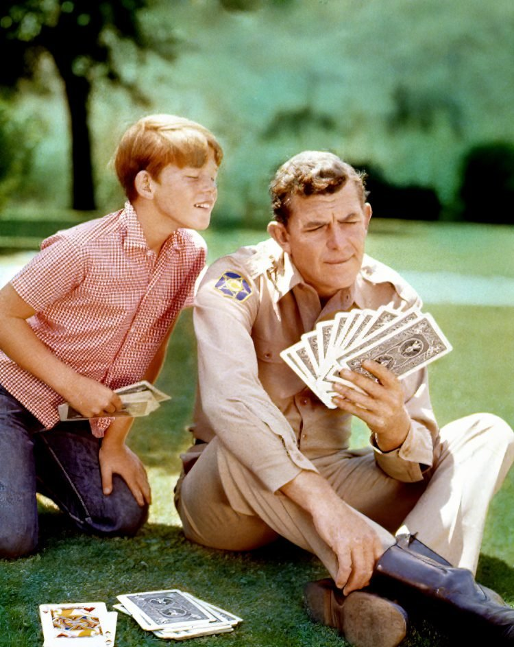 Andy Griffith Show - Andy and Ron Howard - 1960s