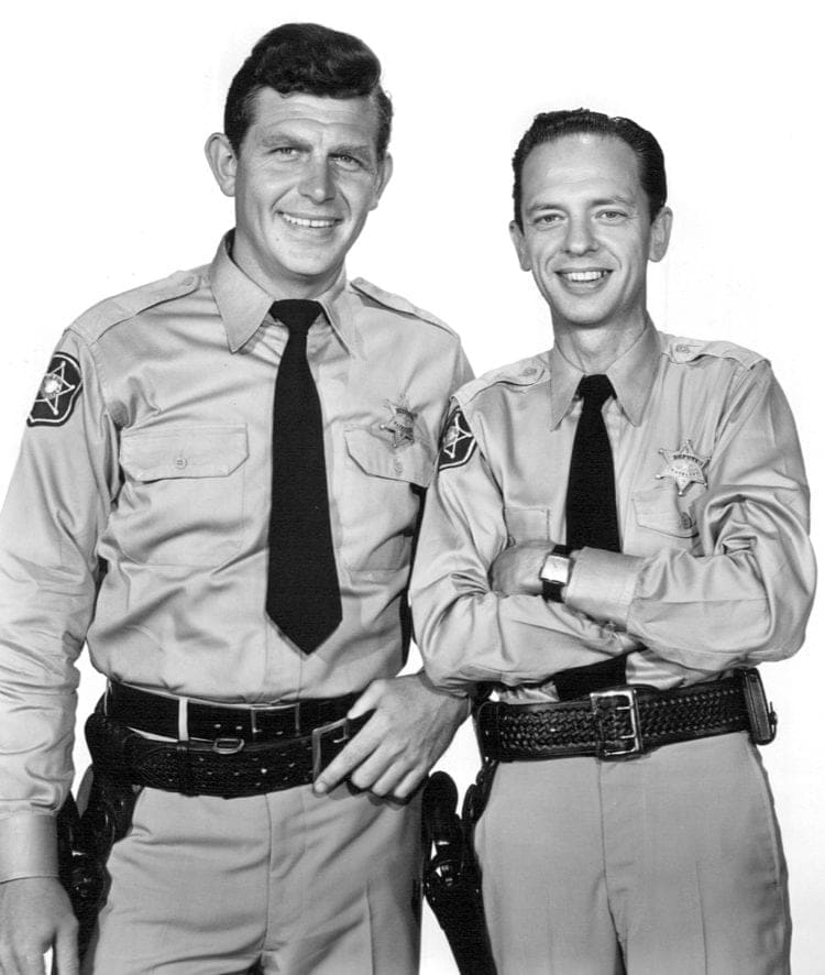 Andy Griffith show with Don Knotts