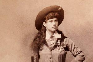 Annie Oakley portrait - Philadelphia