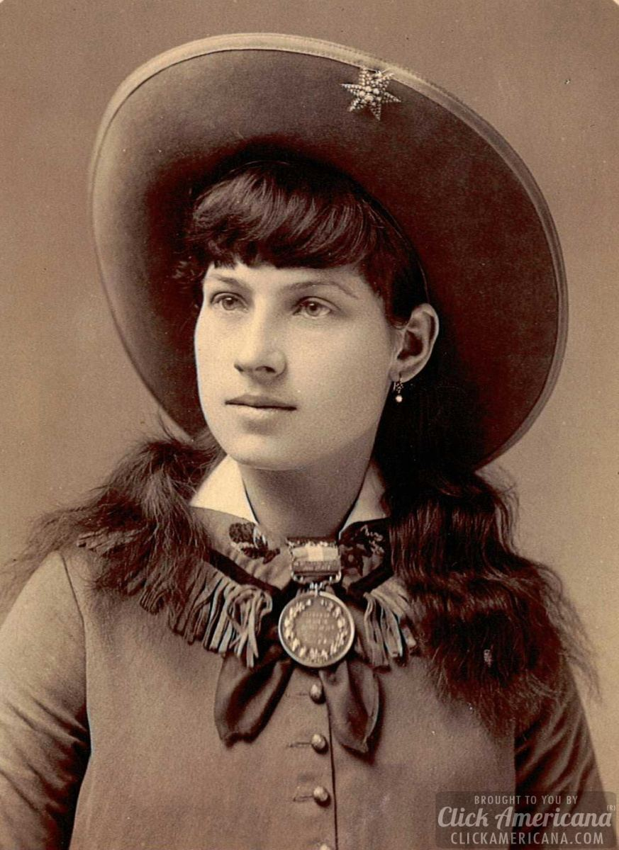 Annie Oakley: Why women should shoot (1894)