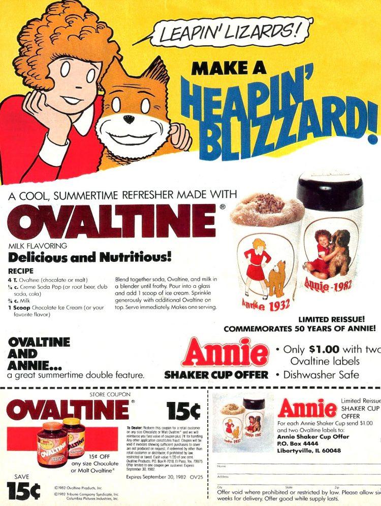 Annie for Ovaltine (1983)