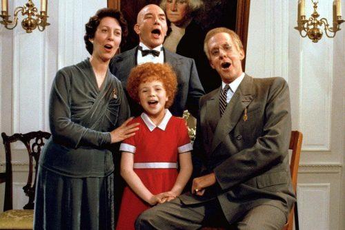 Annie movie cast 1982