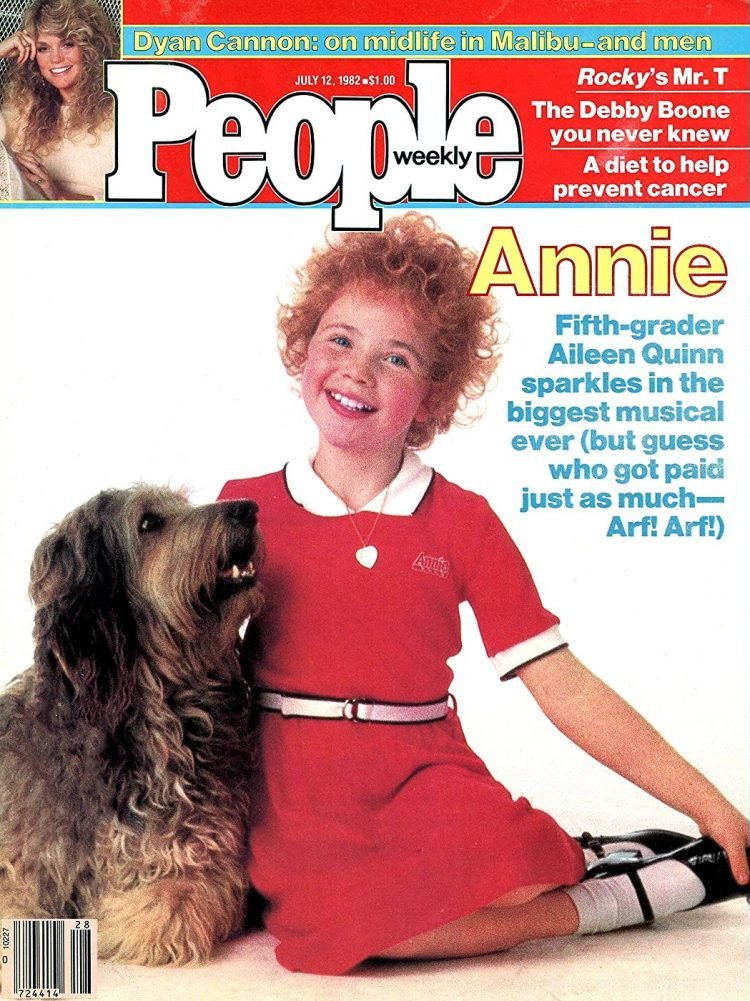 Annie on the cover of People magazine