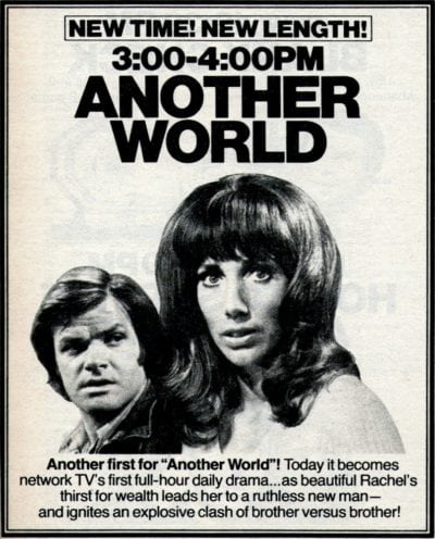 'Another World' & 'Days of Our Lives' become first hour ...