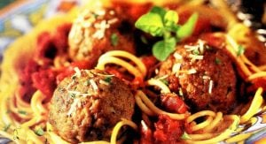 Anthony's mouthwatering meatball recipe