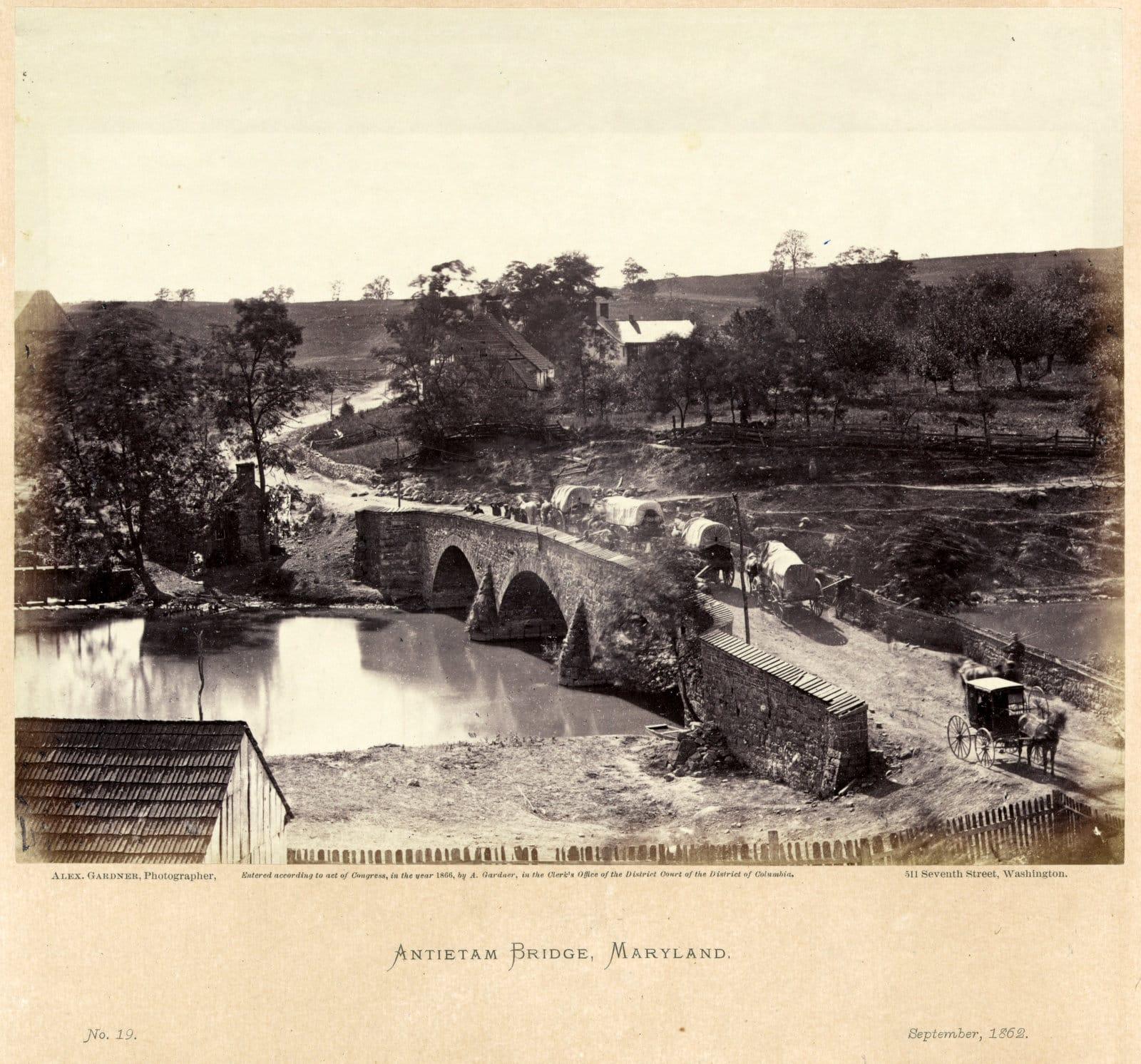Antietam Bridge, Maryland (1862)