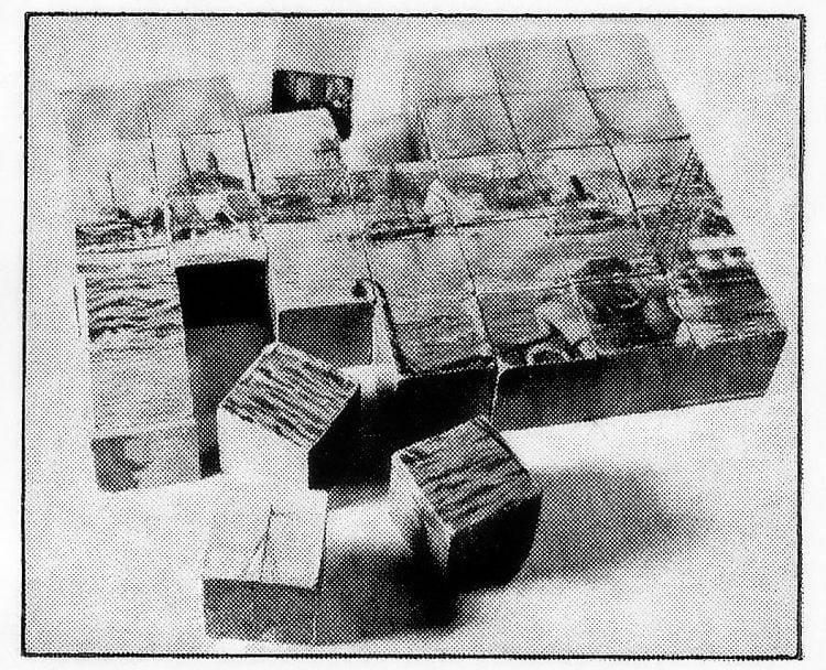 Antique 1880s picture block puzzle