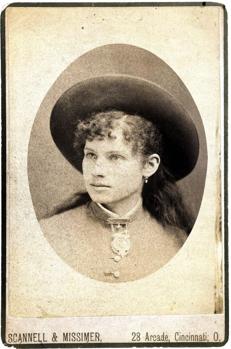 Antique Annie Oakley photos