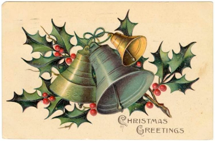 Antique Christmas postcards (1)