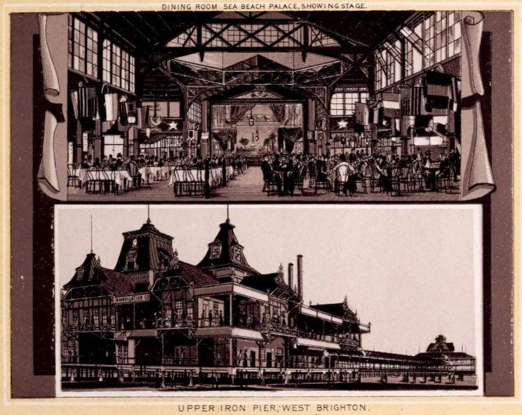 Antique Coney Island photo album from 1890 (10)