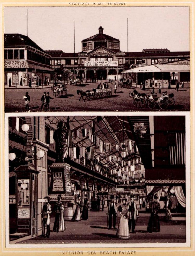 Antique Coney Island photo album from 1890 (11)