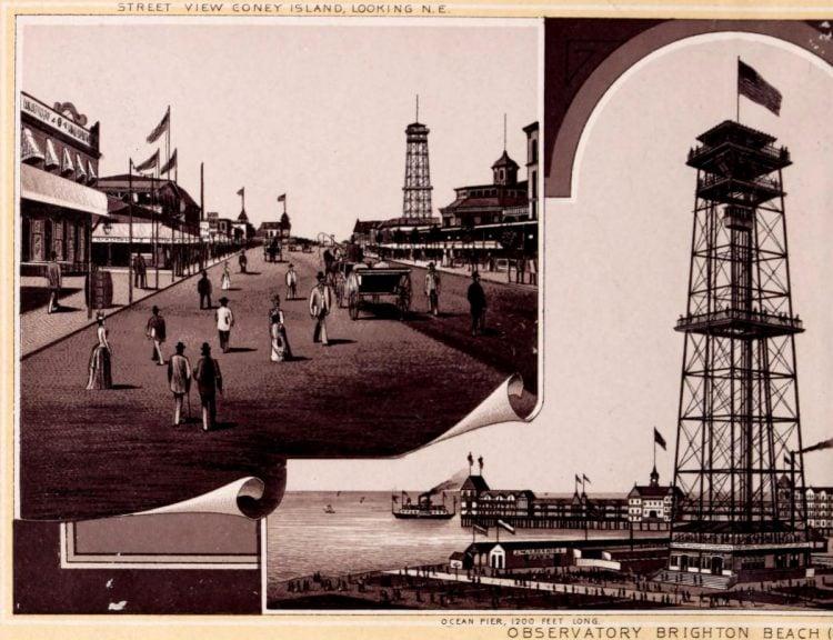 Antique Coney Island photo album from 1890 (12)