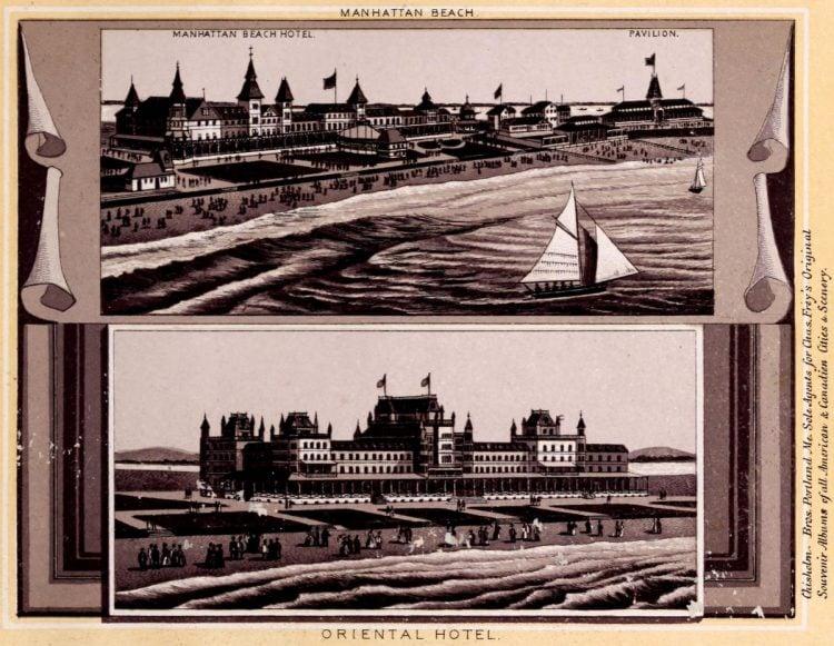 Antique Coney Island photo album from 1890 (2)