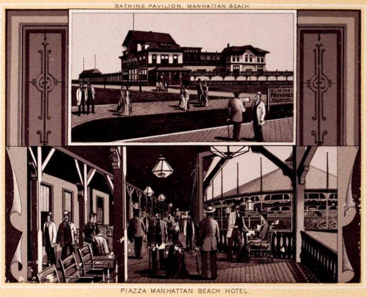 Antique Coney Island photo album from 1890 (3)