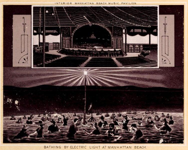 Antique Coney Island photo album from 1890 (4)