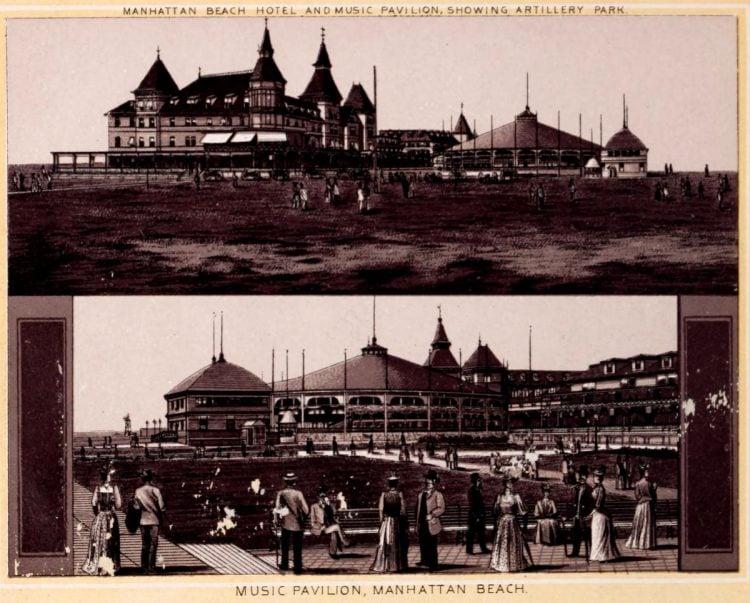 Antique Coney Island photo album from 1890 (5)