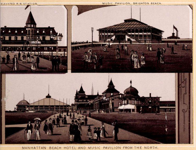 Antique Coney Island photo album from 1890 (6)