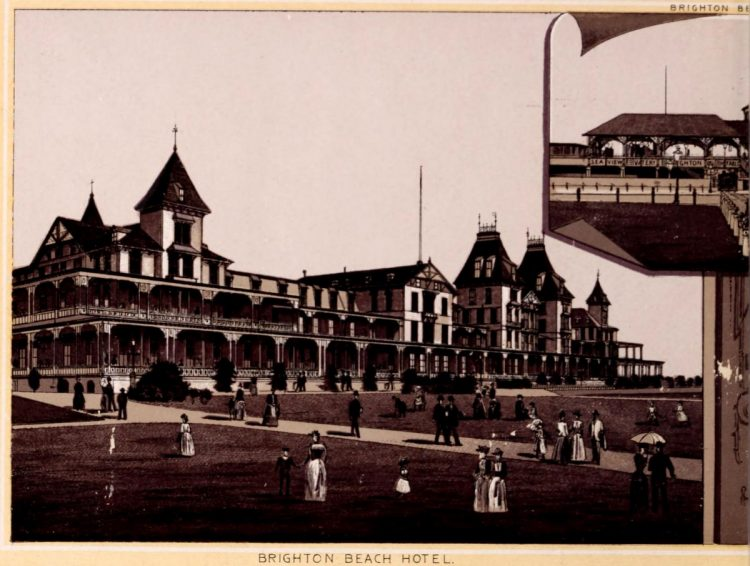 Antique Coney Island photo album from 1890 (7)