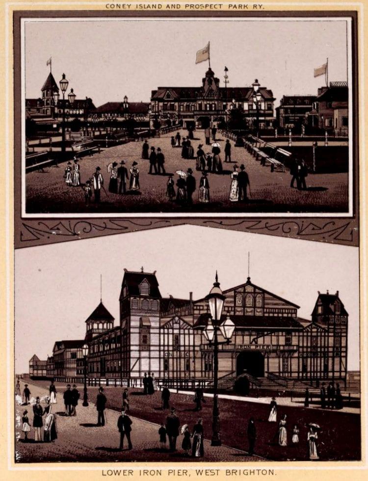 Antique Coney Island photo album from 1890 (8)