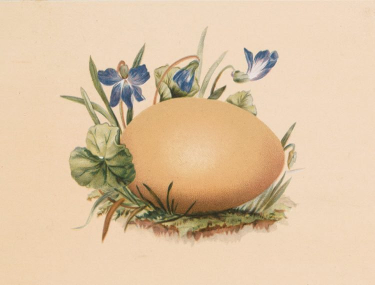 Antique Easter egg cards (1)