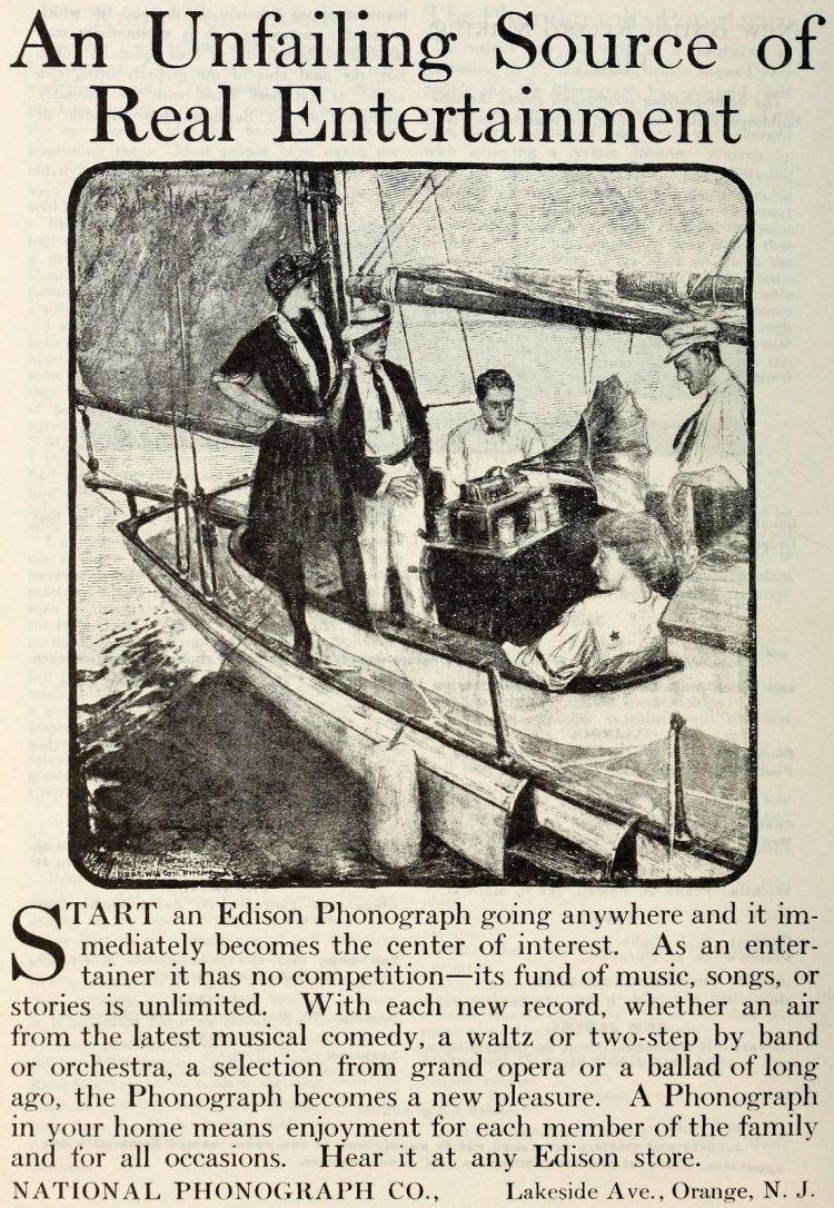 Antique Edison phonographs 1906 1907 1908 (5)