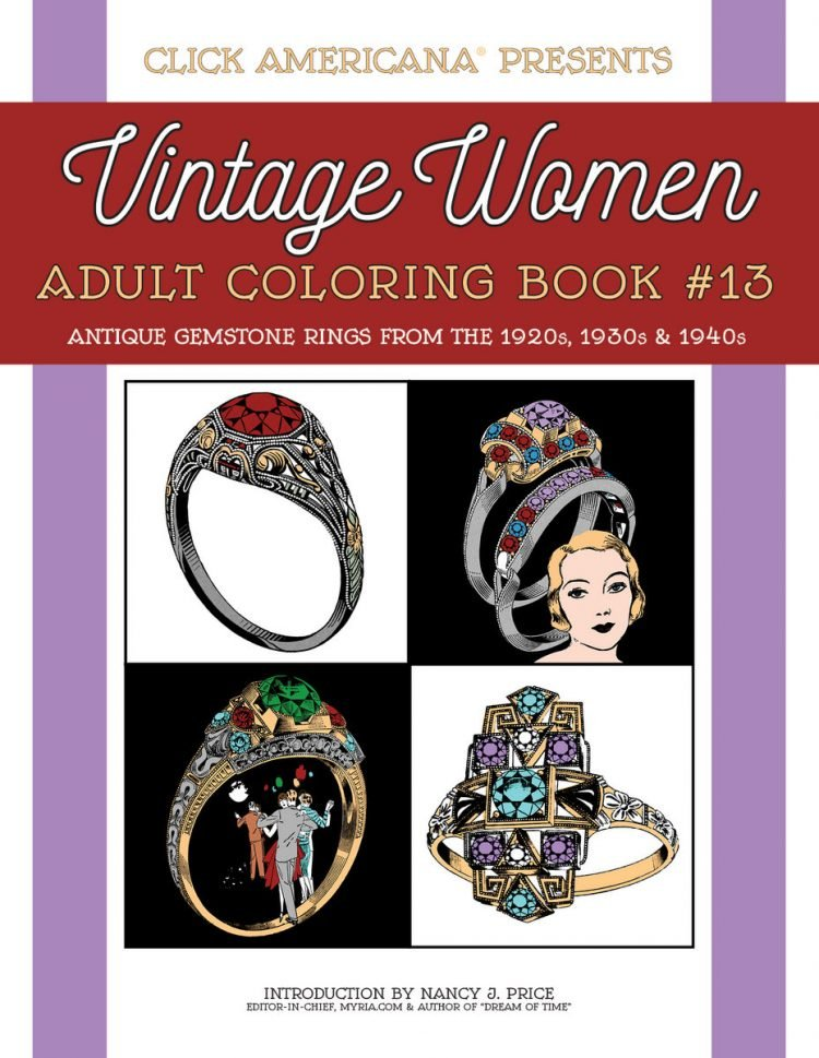 Antique Gemstone Rings from the 1920s, 1930s & 1940s