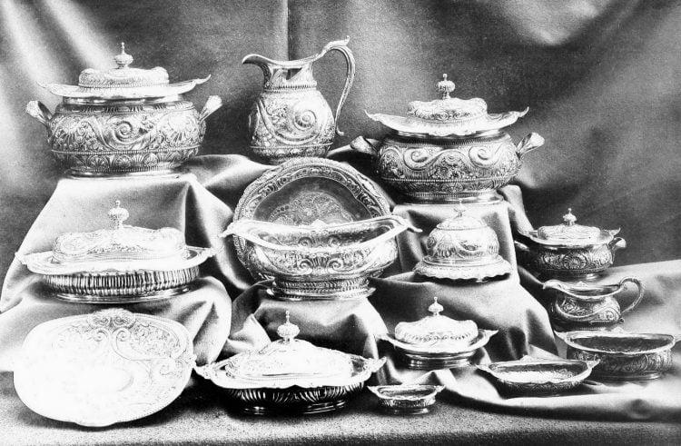 Antique Gorham silver designs from 1889 (3)