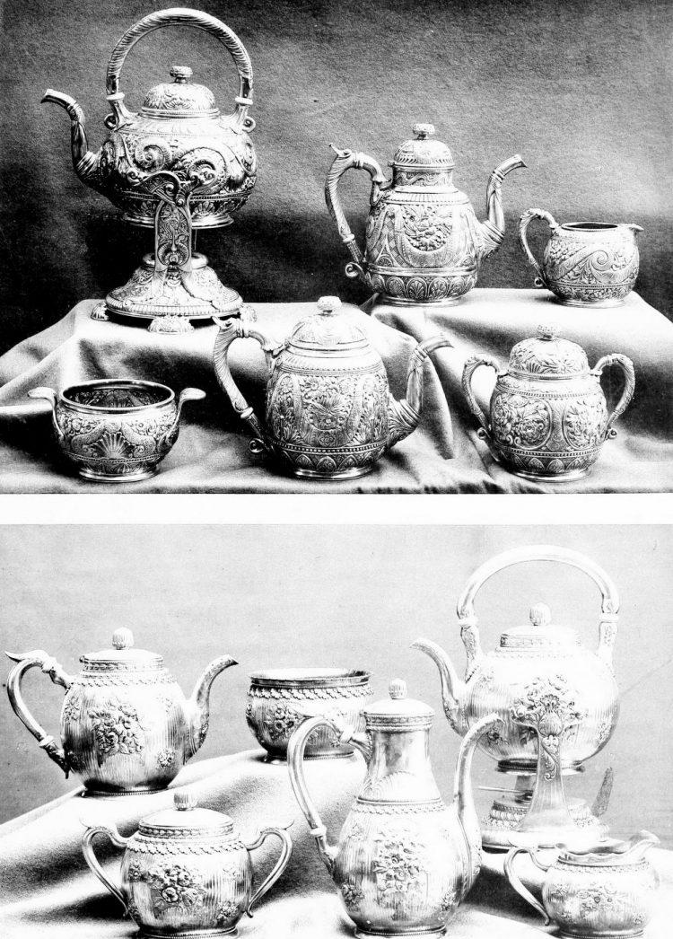 Antique Gorham silver designs from 1889 (4)