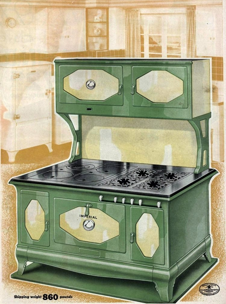 Antique Kitchen Ranges From The 20s 30s Click Americana