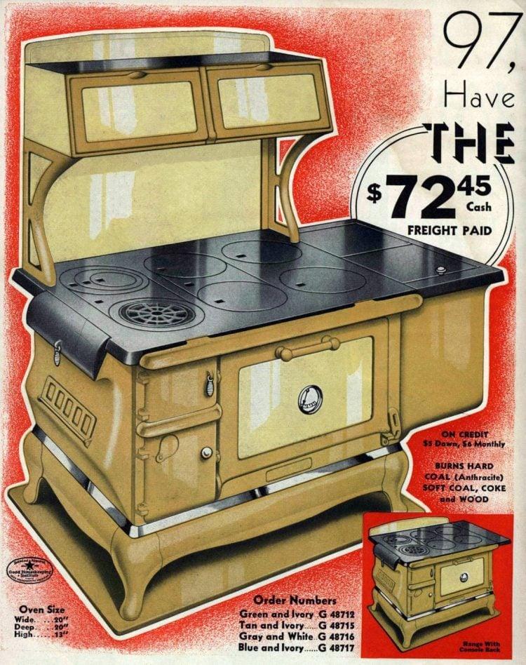 Antique Kalamazoo kitchen stoves from 1936 (7)