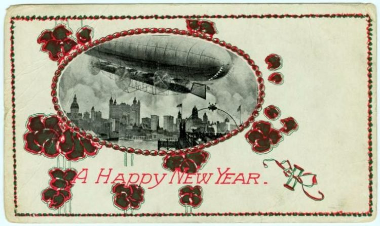 Antique New Year's cards from Click Americana (2)
