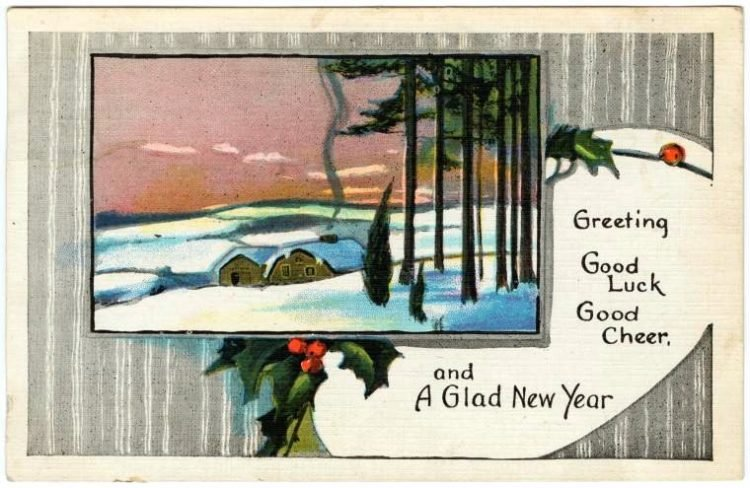 Antique New Year's cards from Click Americana (4)