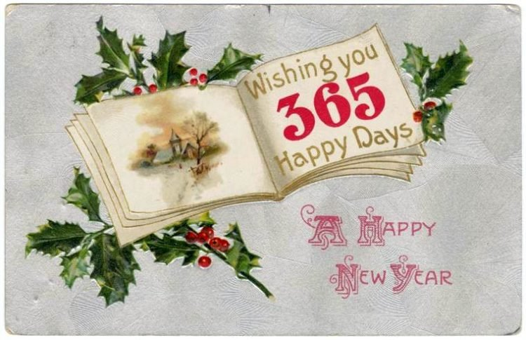 Antique New Year's cards from Click Americana (6)