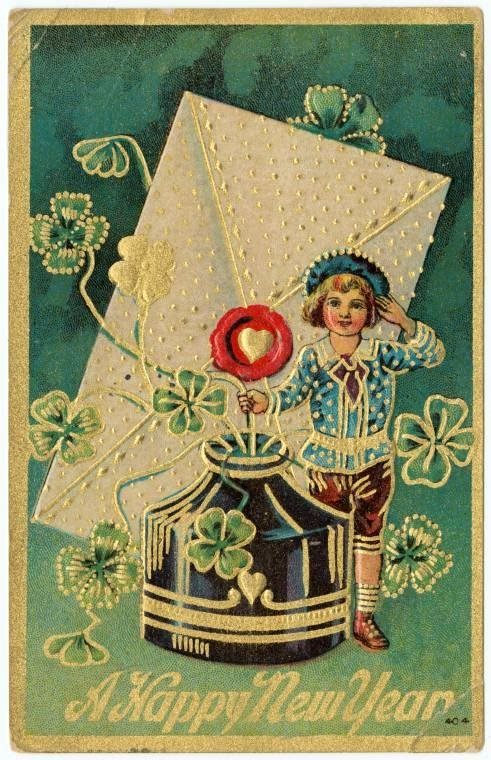 Antique New Year's cards from Click Americana (8)