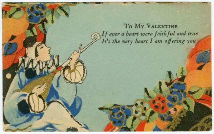 Antique Valentines from the turn of the century (1)